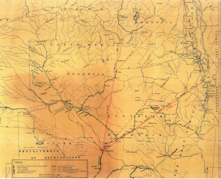 Africair_Wenela_air_routes_Bechuanaland_Protectorate_map-01