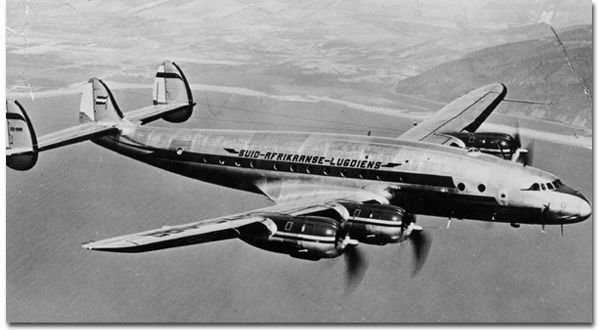 "Lockheed L740A ""Constellation"""