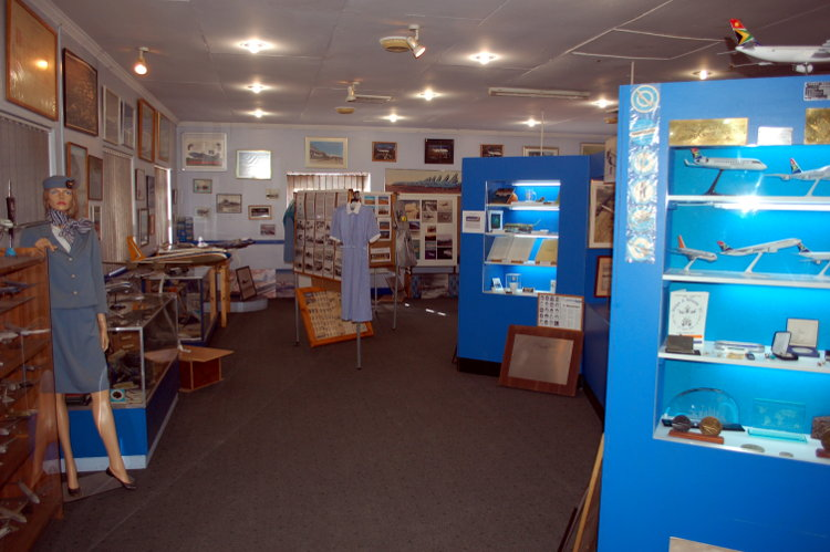 South African Airways Museum display hall 16